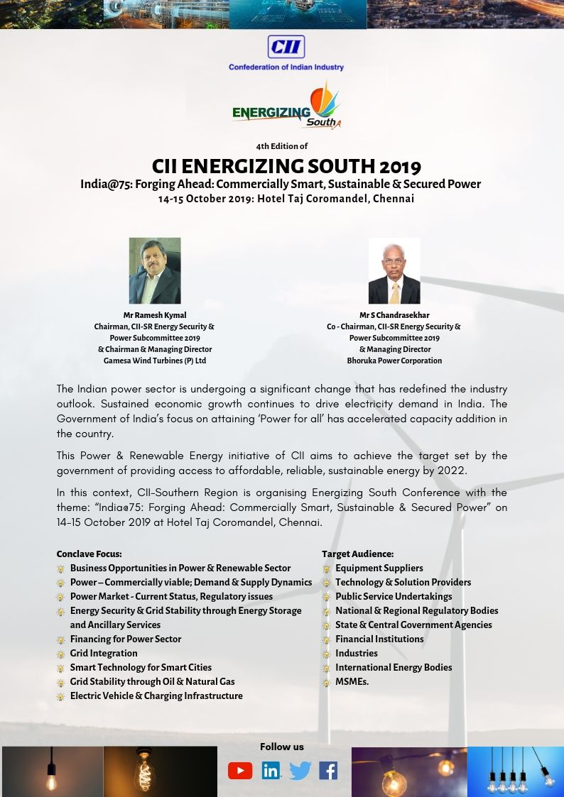 Conference on Energizing South - Southern Region 4th Edition