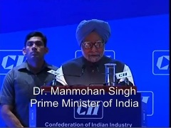 Dr Manmohan Singh,Prime Minister-India,address at the CII National Conference and AGM,2013