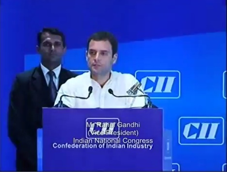 Question & Answer Session by Mr.Rahul Gandhi Vice President, Indian National Congress at CII's AGM and National Conference ,2013