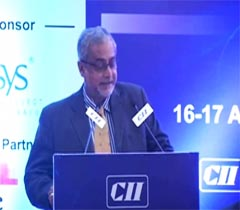 Mr Bhaskar Pramanik, Chairman, Microsoft Corporation (I) Pvt Ltd at the inaugural session of  the Industry-IT Summit 2014