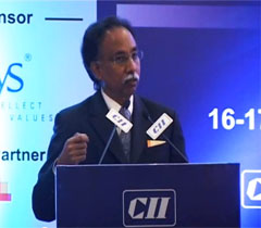 Mr S D Shibulal, MD & CEO, Infosys Ltd at the Inaugural session of the Industry-IT Summit 2014