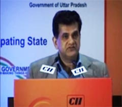 Mr Amitabh Kant, Secretary - DIPP, Ministry of Commerce & Industry, GOI at the Inaugural Session of the 3rd Invest North 2014