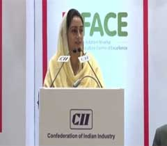 Inaugural address Smt. Harsimrat Kaur Badal, Hon'ble Minister for Food Processing Industries, Govt. of India at the 5th National Cold Chain Summit 2014