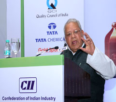 Shri Kalraj Mishra, Hon'ble Minister for MSME, GoI at the Inaugural Session of 22nd CII National Quality Summit 2014