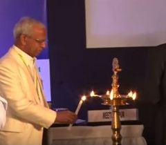 Lighting of the Lamp at the session on 'Nutritional Security in India-Way Forward'