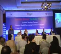Panel discussion on 'Business for Strengthening Nutrition Security'