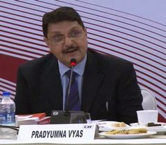 Prof Pradyumna Vyas, Member Secretary, India Design Council addressing at the 'Exclusive CXO's Session: Leading by Design'