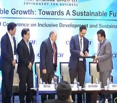 "Release of the CD of the Compilation of Best Practices Case Study Competition at the ""Responsible Growth: Towards a Sustainable Future"""