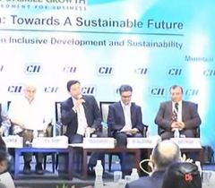 Panel discussion on 'Business Case for Sustainable Growth in India'