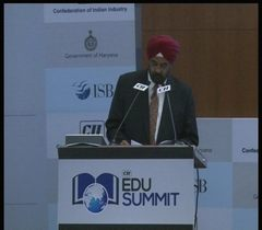 Welcome remarks by Mr Amarbir Singh, Managing Director, Indian Polymer Industries at the inaugural session of the CII EDU Summit