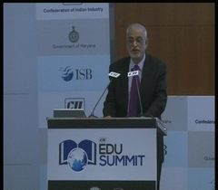 "Special address by Mr Vijay K Thadani, Vice Chairman & Managing Director, NIIT Ltd. at the inaugural session of the ""CII EDU Summit"""