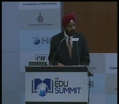 Vote of thanks by Mr Amarbir Singh, Managing Director, Indian Polymer Industries at the inaugural session of the CII EDU Summit