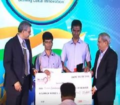 Finalists-CII-3M Student Challenge Awards at the Eleventh India Innovation Summit 2015