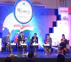 "Panel discussion on ""Financial Inclusion as a key driver for inclusive growth"" at the 11th India Innovation Summit 2015"