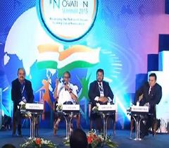 "Panel discussion on ""Innovation in Infrastructure for Transportation"" at the 11th India Innovation Summit 2015"