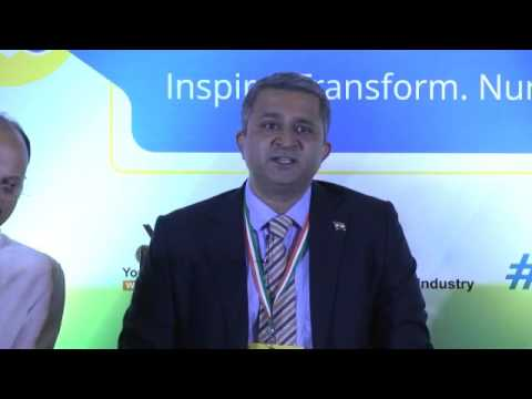 Address by Mr Raghu Kailas, National VC, Young Indians  & MD, Unimo Exports Pvt   Ltd