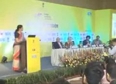 Address by Smt Nirmala Sitharaman, Minister of State (I/C) Commerce at Global Exhibition on Services 2016