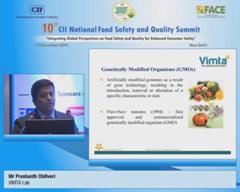 Address by Mr Prashanth Chiliveri, VIMTA Lab
