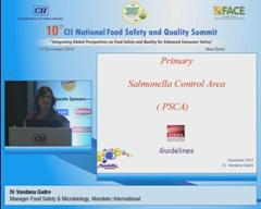 Address by Dr Vandana Gadre, Manager-Food Safety & Microbiology, Mondelez International