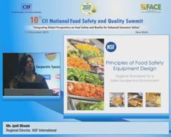 Address by Ms Jyoti Bhasin, Regional Director, NSF International