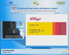 Address by Mr Harshad Pathak, Kellogg's India