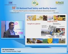 Address by Mr Ganesh Kulkarni, Head, Technical Services, Cargill