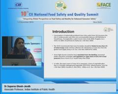 Address by Dr Suparna Ghosh-Jerath, Associate Professor, Indian Institute of Public Health