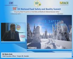 Address by Mr Marko Arola, Chief Executive Officer, Tempix AB, Sweden