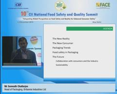 Address by Mr Somnath Chatterjee, Head of Packaging, Britannia Industries Limited