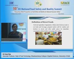 Address by Dr Eram Rao, Associate Professor, Dept of Food Technology, Bhaskaracharya College of Applied Sciences, University of Delhi