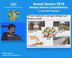 Address by Mohd. Jamshed, Member Traffic, Railway Board
