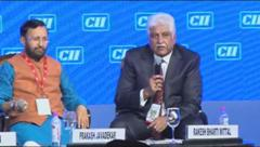Interaction with the audience at the Session on Balancing Economic Growth with ...