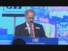 Vipin Sondhi, Chairman, CII National Committee on Capital Goods & Engineering and Managing Director & CEO, JCB India speaks on Building India : The Infrastructure Imperative at the Annual Session 2016
