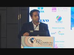 Maj Neil C Castelino, Dy Director and State Head, CII Karnataka speaks at the Innovation Summit 2016