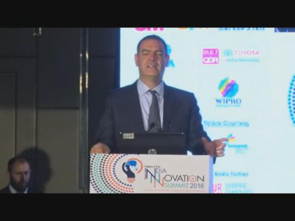 Dr Nimrod Kozlovski, Partner Venture, Jerusalem Venture, Partners (JVP) Labs & Partner and Head of Tech Regulation, HFN speaks on Start-up Innovation at the 12th India Innovation Summit 2016