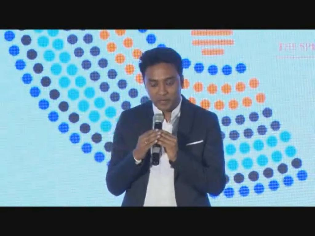 Suhas Gopinath, Co-Founder, ShopsUp speaks on the challenges & aspirations of young entrepreneurs at the 12th India Innovation Summit 2016