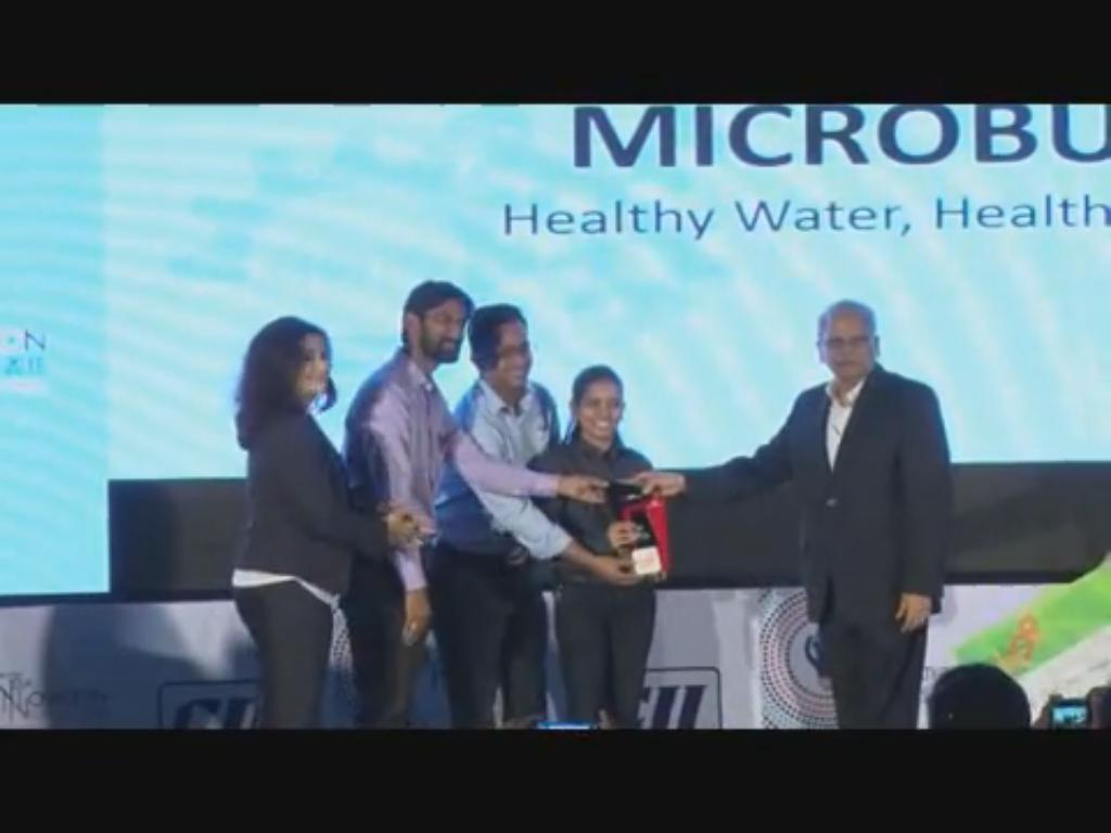 Award Ceremony at the 12th India Innovation Summit 2016