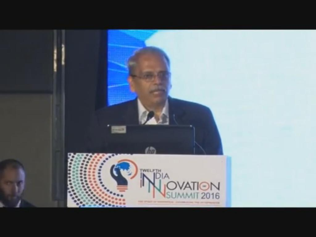 Kris Gopalakrishnan, Past President, CII speaks on Social Entrepreneurship at the 12th India Innovation Summit 2016