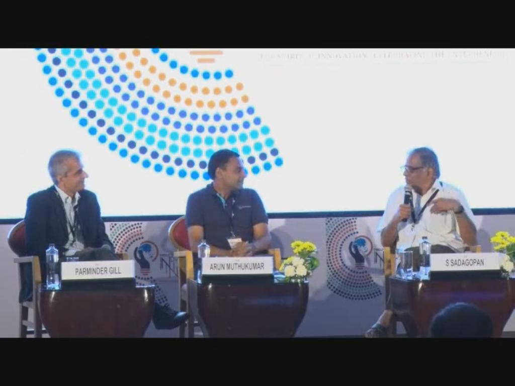 Panel Discussion on Digital Media: The new gurus in Education and Entertainment at 12th India Innovation Summit 2016