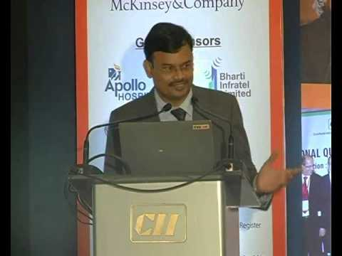 Rajesh Parim, Principal Counsellor and Head-TPM, CII Institute of Quality speaks on TPM