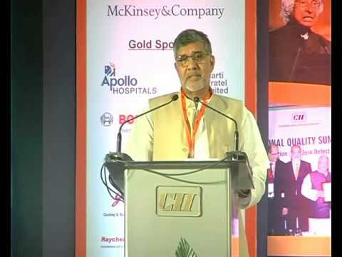 Kailash Satyarthi, Nobel Peace Laureate and Indian Children's Rights Advocate and Activist speaks on the future of the Indian Economy