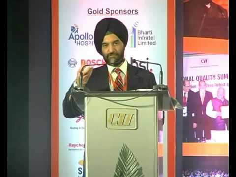 Bhupinder Singh Bhalla, JS, Ministry of Commerce and Industry, GoI shares the government's perspective on Quality