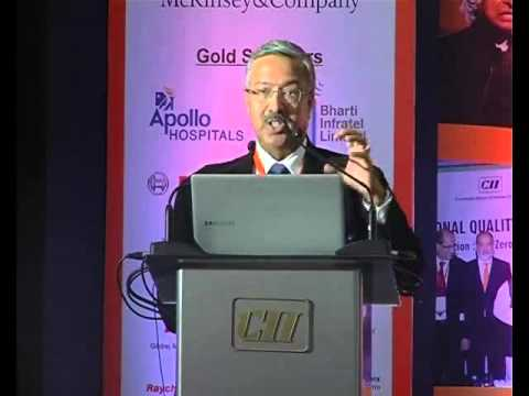 Yaduvendra Mathur, Chairman and Managing Director, EXIM Bank speaks on Quality