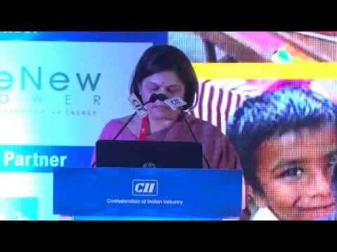 Opening Remarks by Pratima Kirloskar, Co-Chair, CII National Committee on CSR India's Development and President-Innovations (Society), Kirloskar Brothers