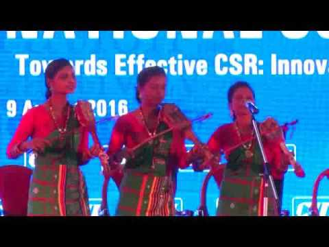 Invocation and National Anthem by 'Banam' artists from Tribal Community, Jharkhand