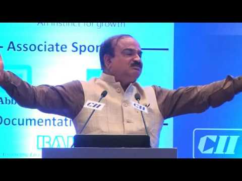 Ananth Kumar, Hon'ble Union Minister for Chemicals and Fertilizers & Parliamentary Affairs, GoI speaks on the Future of the Pharmaceuticals and Medical Devices Sector