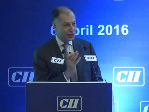 Dr Naushad Forbes, President, CII speaks on the Indian economy and CII's focus for FY 2016-17