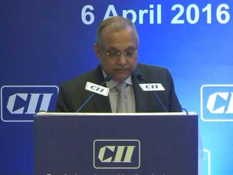 Chandrajit Banerjee, Director General, CII Delivers Welcome Address at the President's 1st Press Conference