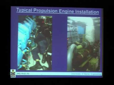 Cmde A K Chakrabarti, PDME, Indian Navy highlights the India Navy's perspective on the indigenous designs and manufacture of diesel engines
