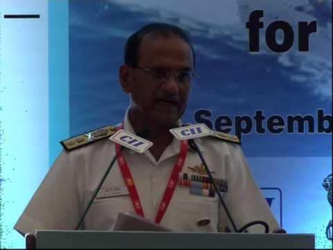 Inspector General S K Goyal, PTM, TM, DDG (Materiel & Maintenance), Indian Coast Guard speaks on the technological evolution in the Indian Coast Guard